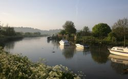 The River Arun at Arundel, Sussex