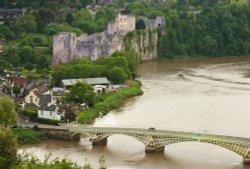 Castle and Bridge, Chepstow.