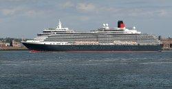 MS Queen Victoria leaving Liverpool 31-05-2014.