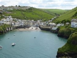 Port Isaac harbour May 14