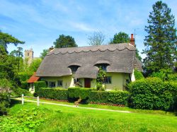 Classic thatched cottage in Arkesden Village