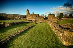 Sawley Abbey ruins