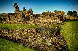 Sawley Abbey near Clitheroe, Lancashire.