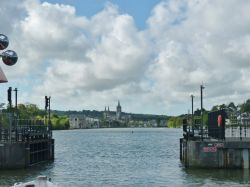 Truro- Arriving by boat