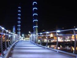Torquay harbour at night