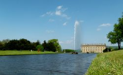 The Emperor Fountain at Chatsworth House, Derbyshire