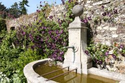 Water feature at Greys Court