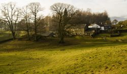 Farm at Loughrigg Tarn
