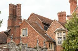 Greys Court, South facade of the main House
