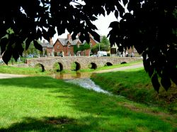 Pack Horse bridge at Rearsby Leicestershire