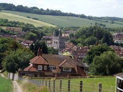 View down to Old Amersham, Bucks