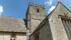 Great Rissington Church near Bourton on the Water.