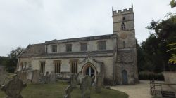 Gt Barrington Church near Burford.