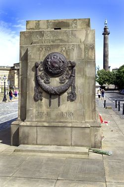 The Cenotaph detail, Lime Street, Liverpool