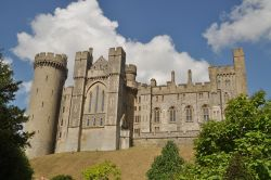 Arundel Castle clouds