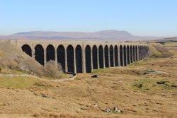 Ribblehead Railway viaduct, Settle to Carlisle railway line, North Yorkshire