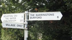 Gt Rissington Village Signs