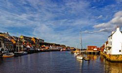 Whitby from the swing bridge