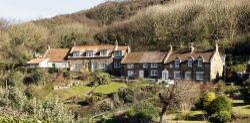 Cottages at Sandsend, North Yorkshire