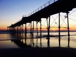 Saltburn by the Sea's Pier at Sunrise attraction