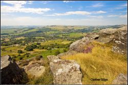 Curbar Edge. Wallpaper