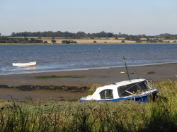 Manningtree, overlooking the river Stour