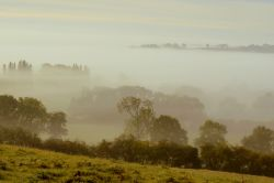 Foggy Newnham Autumn