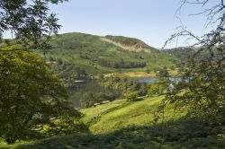 Lanty Scar from Rydal coffin route
