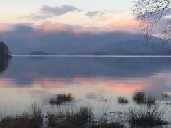 Derwentwater as the daylight starts to go