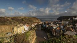 Looking Down On Staithes