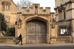 Gate of Magdalen College, Oxford