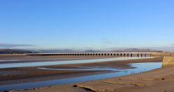 Arnside Viaduct, Arnside, Cumbria.