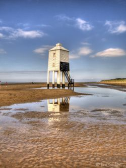 Burnham-on-sea, lighthouse