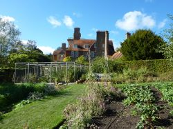 Vegetable garden at Standen, 12th October 2012