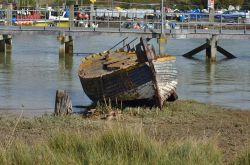 Old boat, Rye harbour