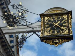 Guildford Guildhall ancient clock, 24th February 2015
