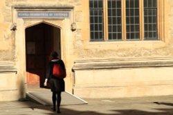 Door in the Schools Quadrangle, Oxford