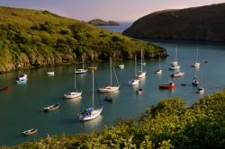 Evening light, Solva