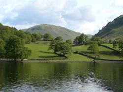 Eastern shore of Lake Ullswater