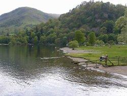 Lake Ullswater at Glen Ridding