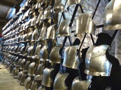 Tower of London Armour Wallpaper
