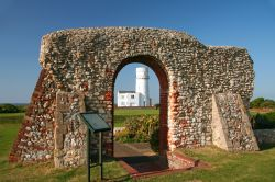 St. Edmund Chapel Ruins and the Lighthouse