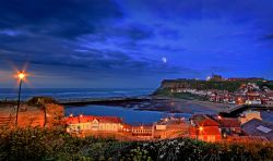 Whitby by Moonlight