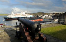 Lerwick harbour from Fort Charlotte