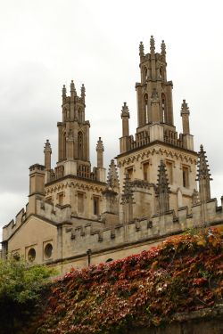 The Towers of All Souls College, Oxford