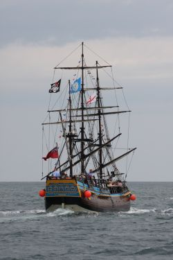 Bark Endeavour Whitby
