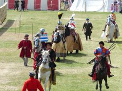 Jousting at the Tower of London Wallpaper