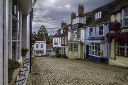 EARLY MORNING VIEW OF QUAY HILL,LYMINGTON