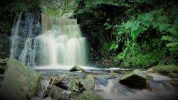 Upper Tigers Clough Waterfall
