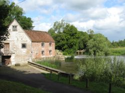 The old mill at Sturminster Newton